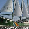 Rainbow Warrior Greenpeace Bersandar di Pelabuhan Tanjung Priok