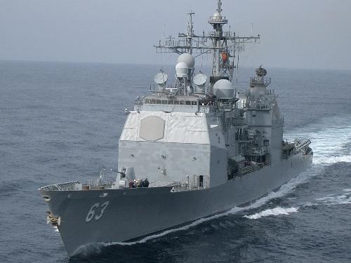 Kapal Perang AS USS Cowpens (CG-63)