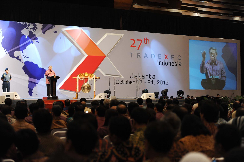 Pembukaan Trade Expo