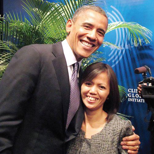 Ima Matul Bersama Obama