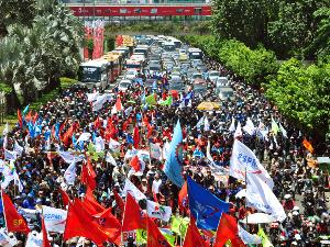 demo buruh