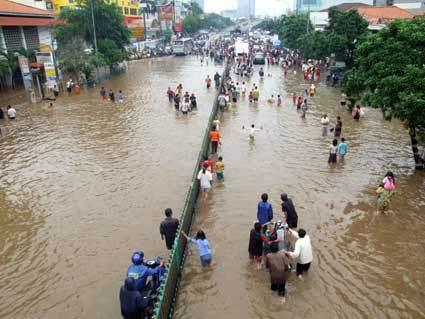 banjir jakarta ( foto : Iwan)