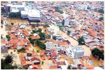 Banjir besar di Jakarta