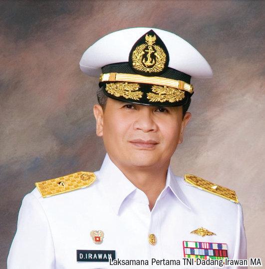 Laksmana Pertama TNI Dadang Irawan MA