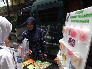 Pengawasan makanan. BPOM (foto : bpom.go.id)