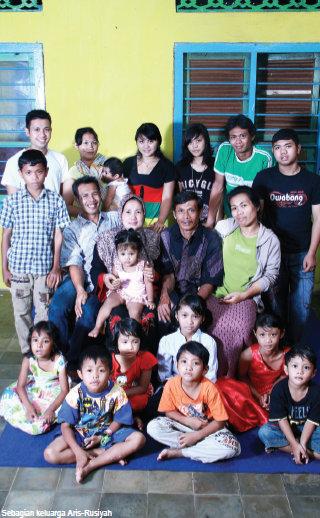 Sebagian Keluarga Aris-Rusiyah