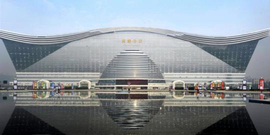 Gedung terbesar di dunia New Century Global Center