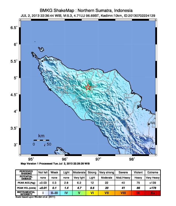 gempa Aceh (foto : bnpb.go.id)