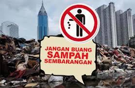 sanksi buang sampah sembarangan