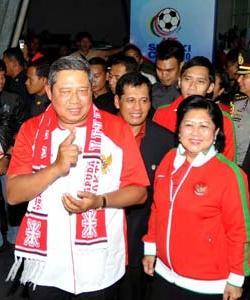 SBY dan Ibu Ani