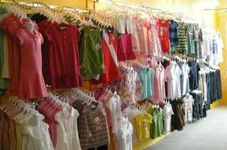 pakaian jadi industri