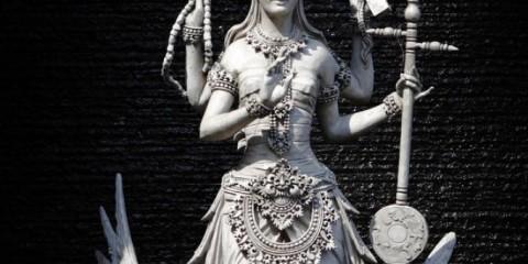 patung-dewi-saraswati