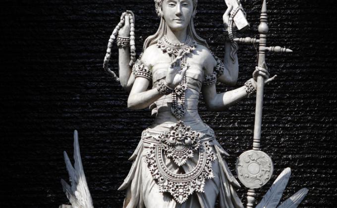 Saraswati by rho-delta on DeviantArt
