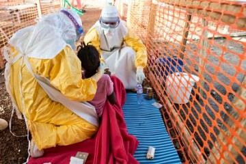 MDG : MSF Ebola Treatment Centre in Kailahun, Sierra Leone