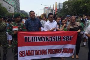 Terimakasih Pak SBY, Selamat datang Presiden Jokowi