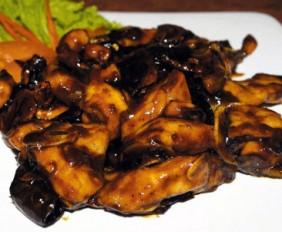 Ayam Cabe Kering Kacang Mede