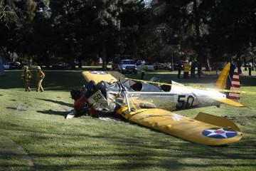 Kecelakaan pesawat harrison ford