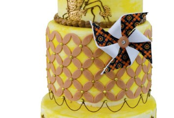 Kue bernuansa Wayang ala Chef Beng