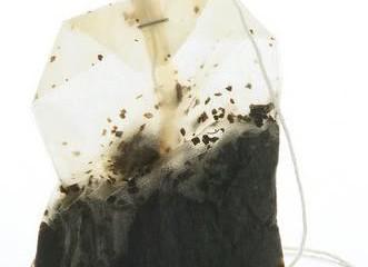 kantong teh celup bekas