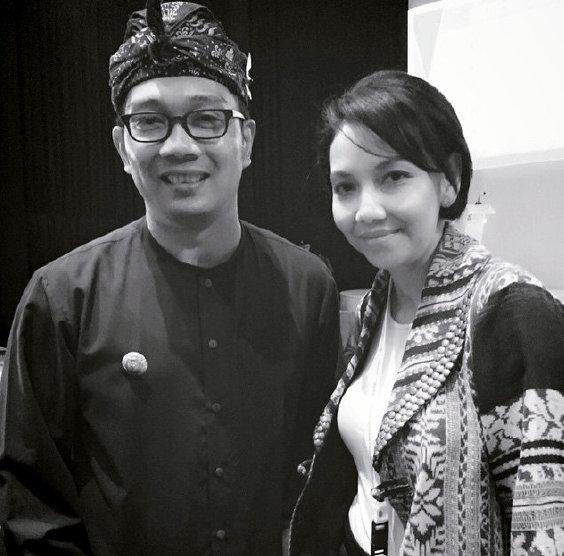 Dengan Wali Kota Bandung, Ridwan Kamil
