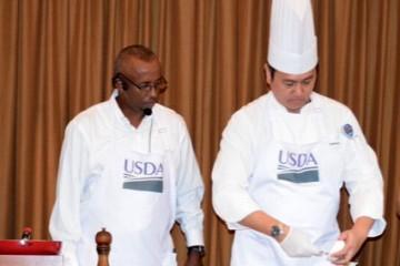 Demo memasak Ali Abdi- Chef Felix