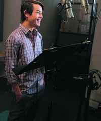 Ryan Potter - Disney Recording Studio