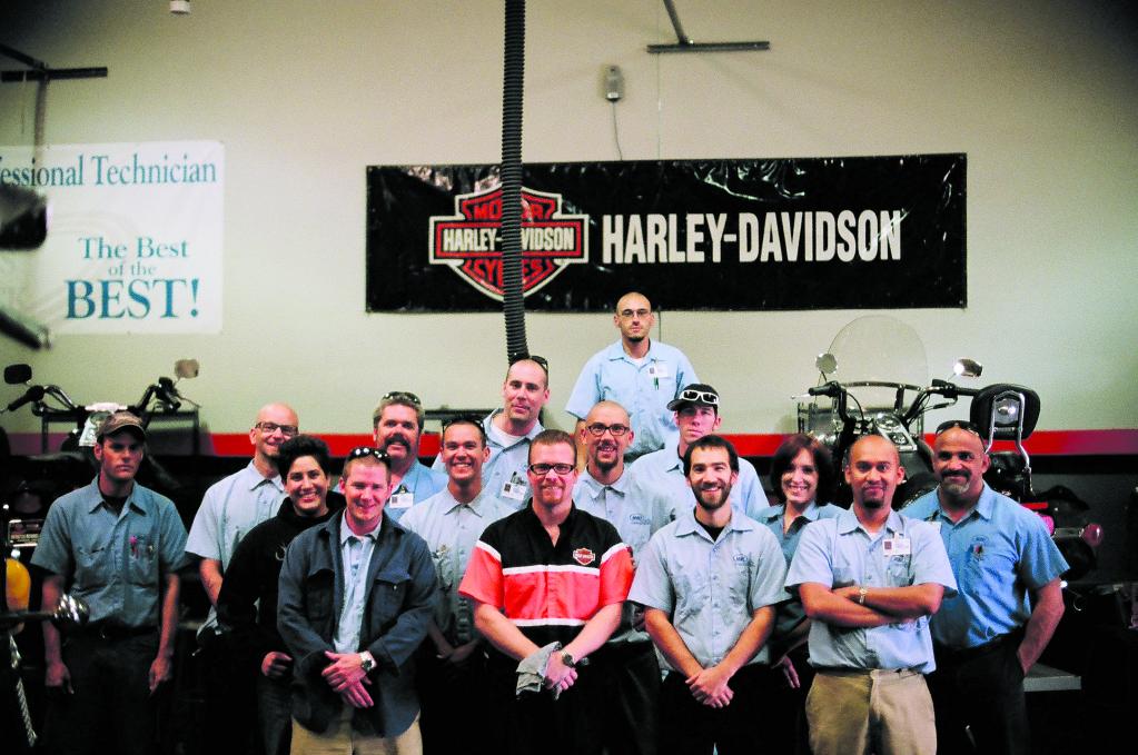 Semasa kuliah di Harley Davidson University