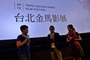 Angga Dwimas Sasongko, Sutradara Filosofi Kopi di Taipei Golden Horse Film     Festival 2015 (2)