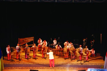 Pertunjukan Angklung Saung Udjo