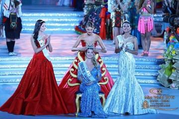 tiga juara Miss World 2015 (foto : Dok isntag Maria Harfanti)