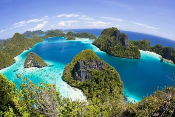 Raja Ampat,  Papua (Foto : CNN)