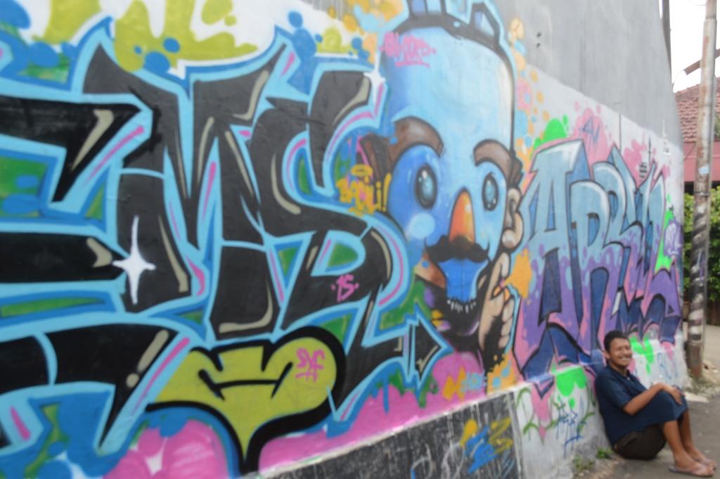 Kampung kreatif bacili kabari news for Mural yang cantik