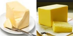 mentega vs margarin