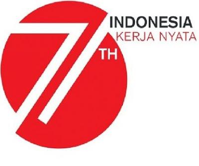 ... Dibalik Logo HUT RI ke-71 'Indonesia Kerja Nyata' | Kabari News