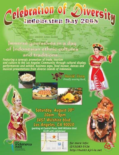 Celebrating Indonesia