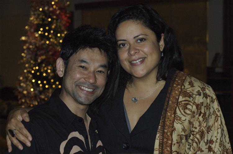 Amron & Maya Soetoro-Ng