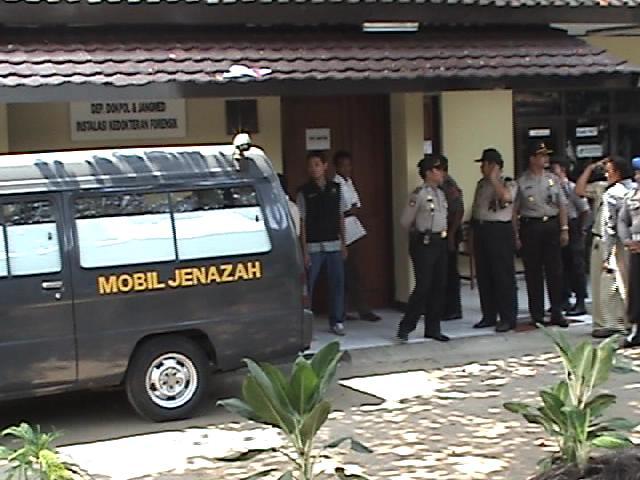 Pengamanan Di RS Polri