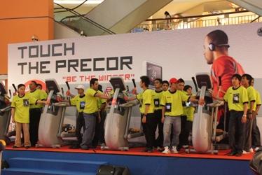 touch the precor