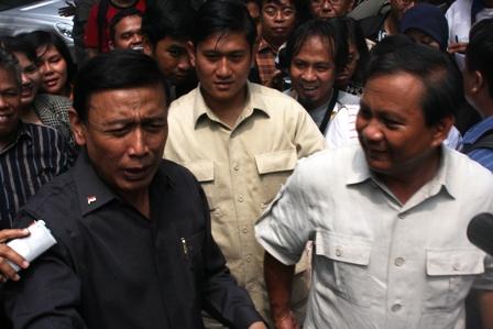 Prabowo dan Wiranto
