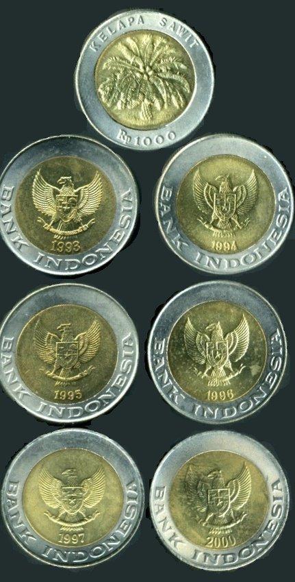 uang logam sebelum diganti