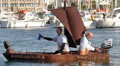 Perahu Cokelat