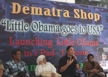 peluncuran little obama goes to usa