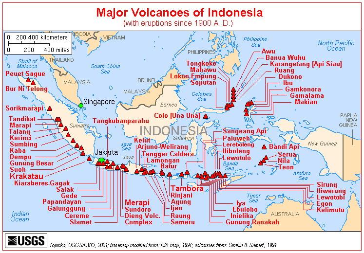 topografi gunung Api (peta)