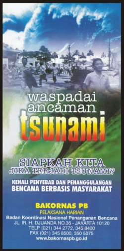 Leaflet Tsunami