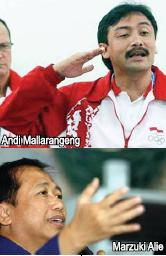 Andi Mallarangeng & Marzuki Alie