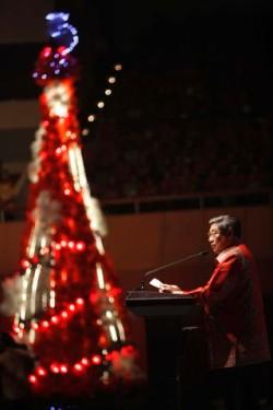 Presiden SBY Hadiri Perayaan Natal Nasional