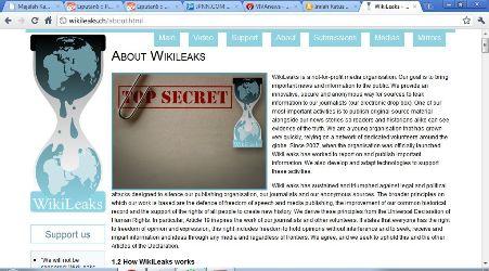 Situs Wikileaks