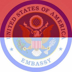 logo us embassy