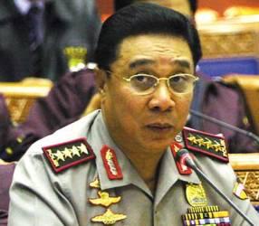 Kapolri Jenderal Bambang Hendarso Danuri