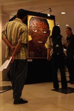 melihat pameran lukisan obama anak menteng
